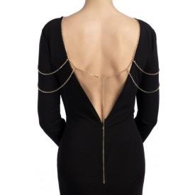 Золотистое украшение на плечи или бёдра MIA OR