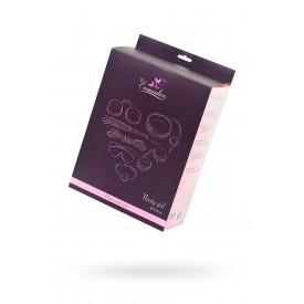 Набор розового цвета для ролевых игр в стиле БДСМ Nasty Girl